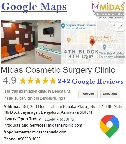 Midas Cosmetic Surgery Clinic Google Reviews